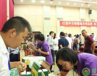 惠农网团队搭建产销对接平台,打通中方县刺葡萄线上线下销售渠道!